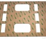 composites 3m 467mp laminating adhesive laser cutting sample with a 10.6 micron co2 laser 1