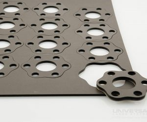 elastomers polyurethane foam gasket sheet laser cutting with a 10.6 micron co2 laser